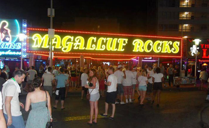 Magaluf party shithole