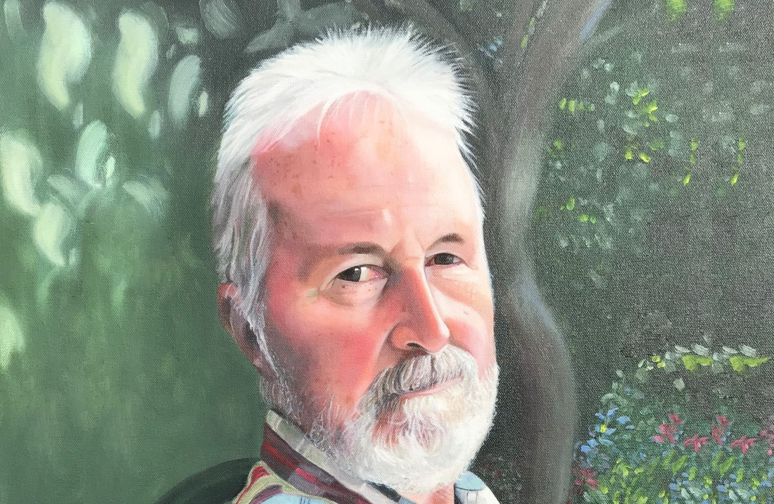 Painting of my dad.